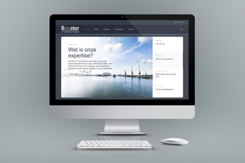 Booster IT Consultancy - Website