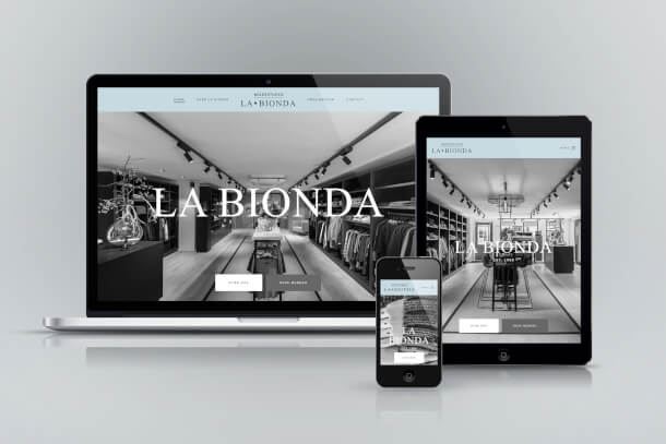 La Bionda - Website