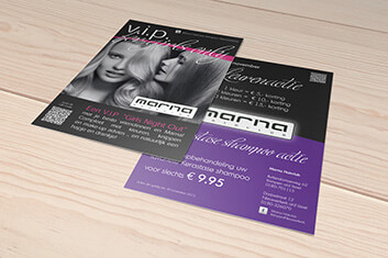 Marna Hairclub - Flyer